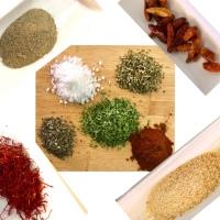 Especias y condimentos básicos en la cocina