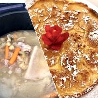 Menú - Cocido Completo y Hojaldre con Manzana