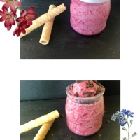 Gelatina con Yogur y Mermelada